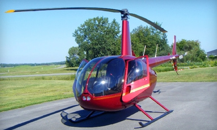 Raven Helicopter - De Witt: $150 for Two Seats on a 30-Minute Helicopter Tour from Raven Helicopter ($300 Value)
