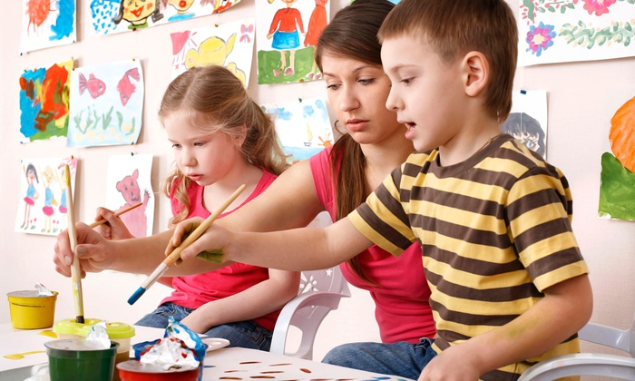 Orange Easel - Northland: One or Two Months of Kids' Art Classes at Orange Easel (Up to 54% Off)