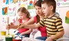 Orange Easel** - Northland: One or Two Months of Kids' Art Classes at Orange Easel (Up to 54% Off)