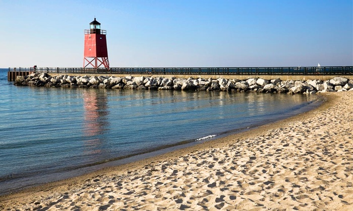 Weathervane Terrance Inn & Suites - Charlevoix, MI: $75 for a One-Night Stay for Two at Weathervane Terrance Inn & Suites in Michigan (Up to $138 Value)