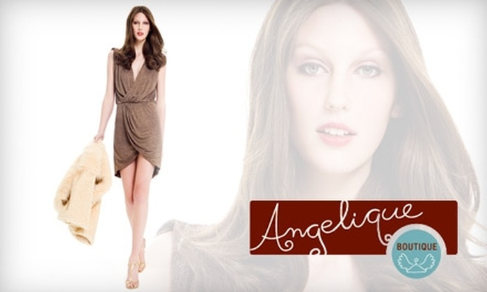 Angelique - South Baton Rouge: $45 for $100 Worth of Designer Apparel and Accessories at Angelique