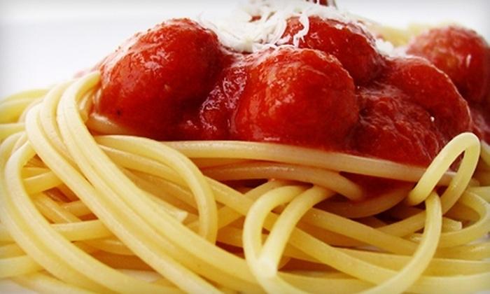 Trattoria Il Centro - Downtown Oklahoma City: $12 for $25 Worth of Italian Cuisine and Drinks at Trattoria iI Centro