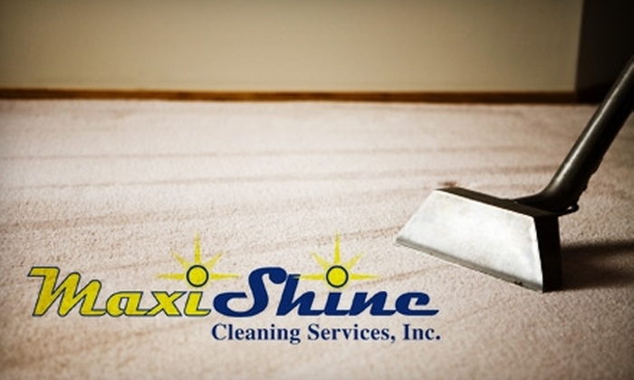 Maxi Shine Cleaning Services - McDonough: $35 for a Two-Room Carpet Cleaning from Maxi Shine Cleaning Services ($70 Value)