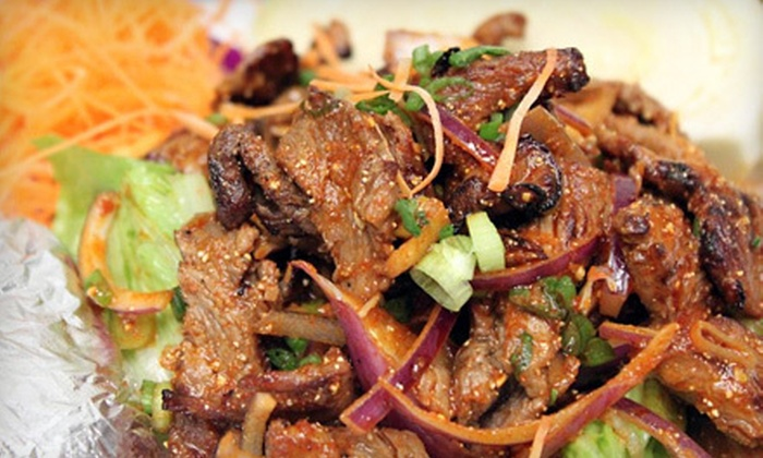 Phuket Thai Restaurant - Providence: Thai Fare and Sushi for Dinner or Lunch at Phuket Thai Restaurant (Half Off)