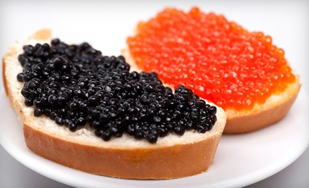 In-Home Personal Chef/ Caviar Class for Six (a $500 value)  - Chef Serge  in