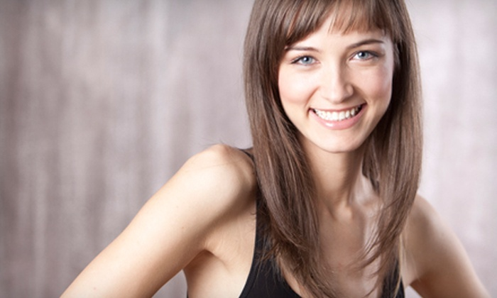 La Terre Salon - Fort Worth: $35 for Haircut, Style, and a Conditioning Treatment at La Terre Salon (Up to $80 Value)