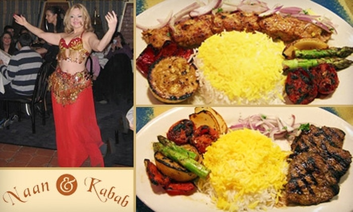 Naan & Kabab - Reno: $10 for $20 Worth of Mediterranean Cuisine and Beverages at Naan & Kabab