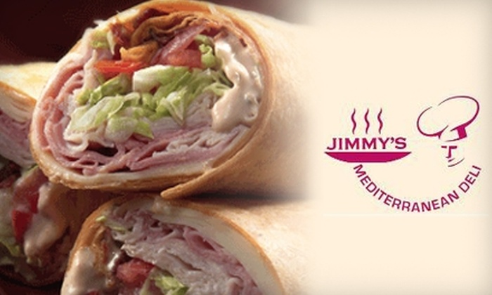 Jimmy's Mediterranean Deli - Norwalk: $7 for $14 Worth of Sandwiches, Soups, and Salads at Jimmy's Mediterranean Deli