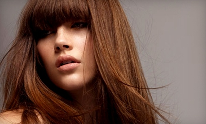 It's All About Me  - Downtown: $62 for Haircut, Style, Lowlights or Highlights, and Deep Conditioning Treatment at It's All About Me ($123 Value)