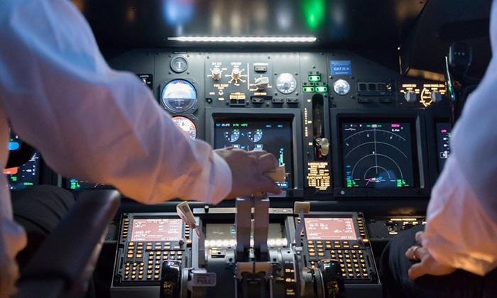 Flight Ex Italian Flight Simulation Center - Pisa: Simulazione pilotaggio Boeing 737 per una o 2 persone da Flight Ex Italian Flight Simulation Center (sconto fino a 69%)