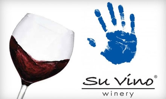 Su Vino Winery - Phoenix: $15 for a Wine Tasting with Appetizer for Two at Su Vino Winery (Up to $32.99 Value)