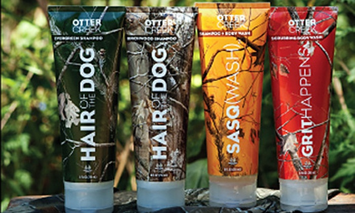 Otter Creek Outfitters: $25 for $50 Worth of Outdoorsmen's Body Wash, Shampoo, and Moisturizer from Otter Creek Outfitters