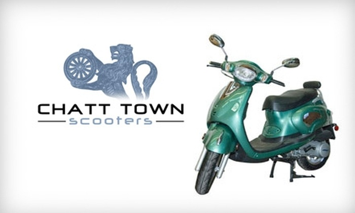 Chatt Town Scooters - Northside Community: $15 for a Three-Hour Rental at Chatt Town Scooters ($35 Value)