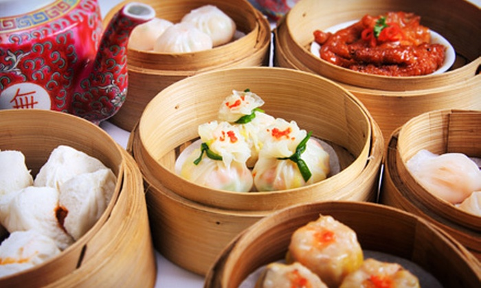 China Club Bistro - Seattle: Dim Sum and Glass of Wine for One or Two at China Club Bistro (51% Off)