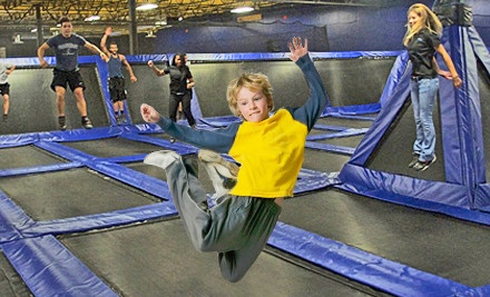 2 One-Hour Open-Jump Passes - Boing! Jump Center in Oviedo