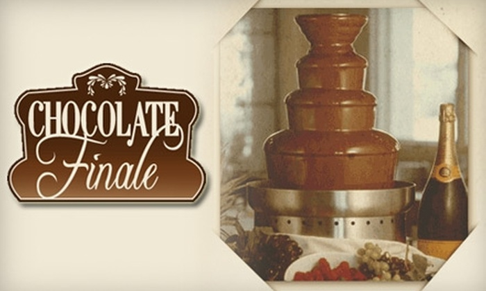 Chocolate Finale - Dallas: $199 for Chocolate Fountain Rental ($398 Value) from Chocolate Finale