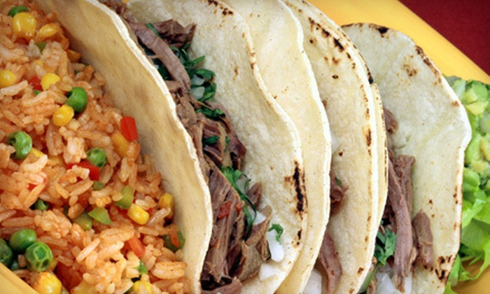 Tampico Grill - Laurel: $20 for $40 Worth of Mexican Fare and Two Drinks at Tampico Grill in Laurel (Up to $49.50 Value)
