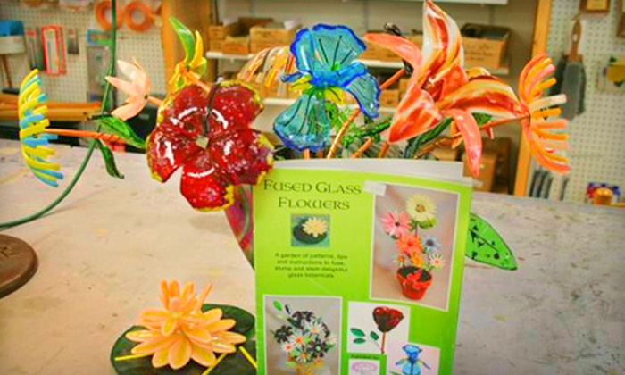 Tucson Stained Glass - Midtown: $25 for a Two-Hour Plate-Making Class at Tucson Stained Glass ($50 Value)