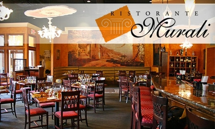 Ristorante Murali - Aurora Highlands: $20 for $40 Worth of Italian Fare and Drinks at Ristorante Murali in Arlington