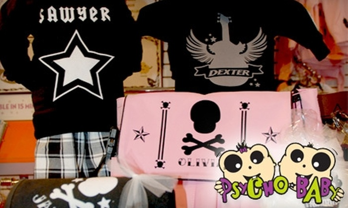 Psycho Baby - Wicker Park: $25 for $50 Worth of Baby and Toddler Apparel, Accessories, and Gifts at Psycho Baby