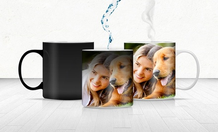 Personalized Photo Mug or Magic Photo Mug with 11 Fl. Oz. Capacity from Printerpix; from $7.99–$9.99