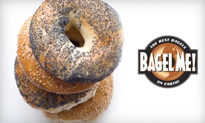 Bagel Me! - Multiple Locations: $6 for $12 Worth of Bagels, Sandwiches, Salads, and More at Bagel Me!