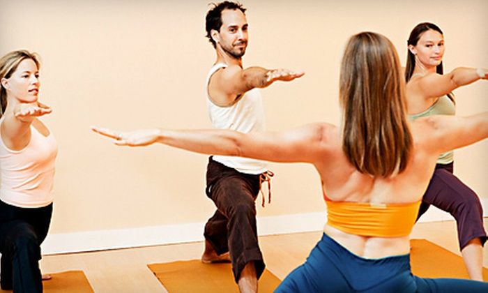 Open Center Yoga - White Wood: 10 or 20 Yoga Classes at Open Center Yoga in Levittown (Up to 84% Off)