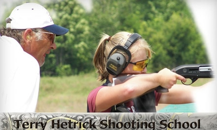Terry Hetrick Shooting School - Scottsboro: $67 for an Hour-Long Skeet-Shooting Lesson From the Terry Hetrick Shooting School
