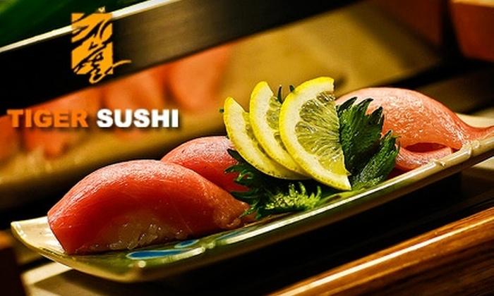 Tiger Sushi Baton Rouge - Shenandoah: $10 for $20 Worth of Sushi and Drinks at Tiger Sushi