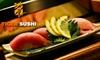 Tiger Sushi - Shenandoah: $10 for $20 Worth of Sushi and Drinks at Tiger Sushi
