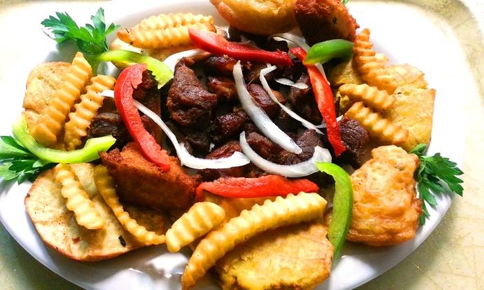 Kizin Creole - Chicago: Haitian Cusine at Kizin Creole (50% Off). Two Options Available.