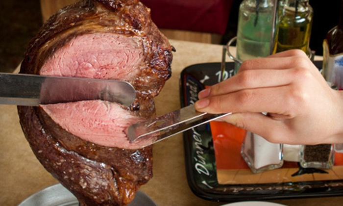 Oliveira's Steakhouse - Downtown Woburn: All-You-Can-Eat Brazilian-Steak-House Cuisine for Two or Four at Oliveria's Steakhouse (Half Off)