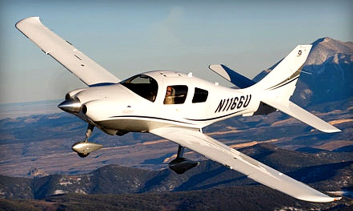 Trade Winds Aviation - Alum Rock: Private Pilot Ground Class or Economy- or Executive-Level Introductory Flights from Trade Winds Aviation (Up to 63% Off)