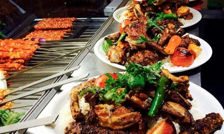 Ten Hot and Cold Turkish Meze with Main Course to Share for Two or Four at Lalezar (Up to 69% Off)