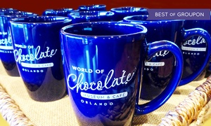 World of Chocolate Museum & Cafe: Chocolate Tour with Optional Mug and Coffee or Cocoa at World of Chocolate Museum & Cafe (Up to 41% Off)