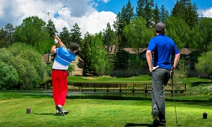 Bear Mountain Golf Course: Nine-Hole Round with Cart for Two or Four at Bear Mountain Golf Course (Up to 38% Off)