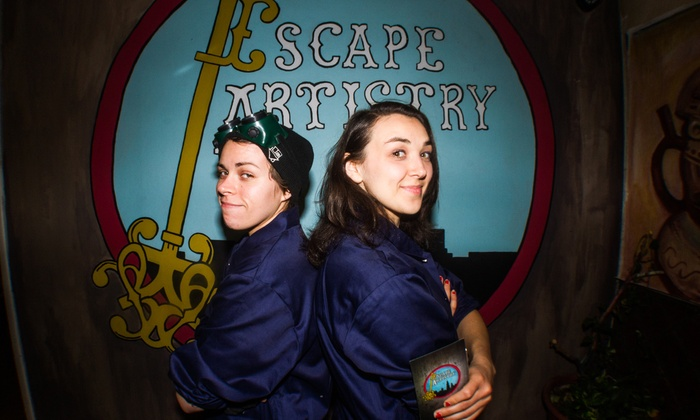 Escape Artistry LLC - Wicker Park: Admission for Two, Four, or Private Group of 10 at Escape Room at Escape Artistry LLC (Up to 53% Off)