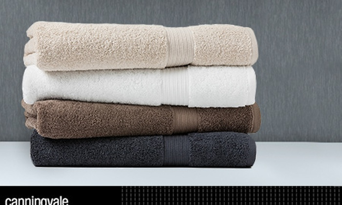 Canningvale: $65 for Four Canningvale Bath Sheets in Choice of Four Colours, Includes Nationwide Delivery ($159.80 Value)