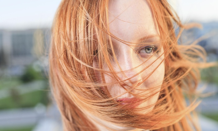Hair By Angela Edmondson - Inland Empire: Base Color or Partial Highlights with Haircut from Hair By Angela Edmondson (60% Off)