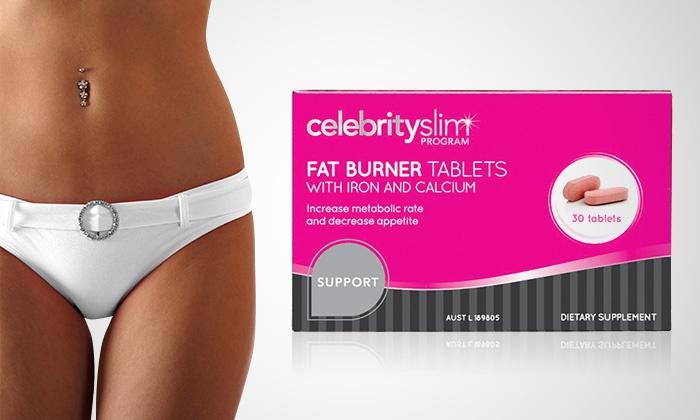 Celeb Slim Fat Burner Tablets Groupon Goods