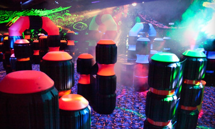 United Skates of America - Wickliffe: Four Rounds or Laser Tag or a Roller-Skating Package for Two, Four, or Eight at United Skates of America (Up to 76% Off)