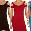 3-Pack of Slimming Mini Dresses