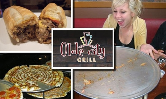 Olde City Grill - Pacific Beach: $10 for $25 Worth of Philadelphian Fare and Drinks at Olde City Grill