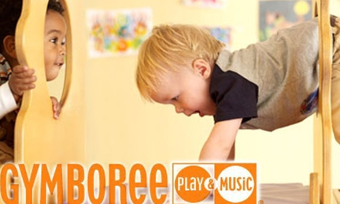Gymboree Play & Music - Multiple Locations: $32 for a One-Month Membership and No Initiation Fee at Gymboree Play & Music (Up to $119 Value). Choose from Two Sets of Locations.