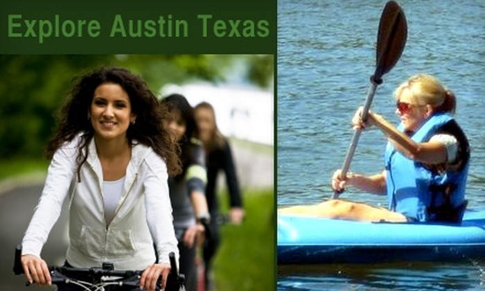 Explore Austin Texas - South River City: $25 Toward a Kayak or Bike Rental from Explore Austin Texas