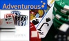 Adventurous Sports - Mission Bay: $25 for a Two-Hour Learn to Play Poker Night with Adventurous Sports ($50 Value)