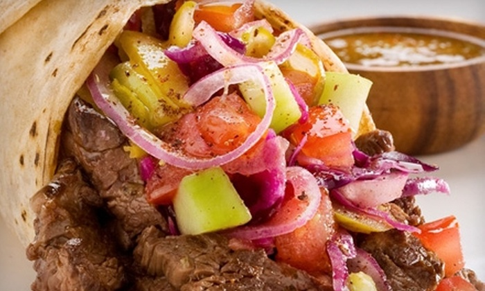 Nesh Mediterrean Grill - Lincoln Park: $6 for $12 Worth of Mediterranean Fare and Drinks at Nesh Mediterranean Grill