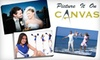 "Picture It On Canvas: $49 for One Photo Print Reproduced on a 16""x20""x1.5"" Gallery-Wrapped Canvas from Picture It On Canvas"