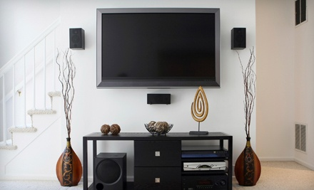 Basic Television Installation Package (a $200 value) - AAA Handyman Service in
