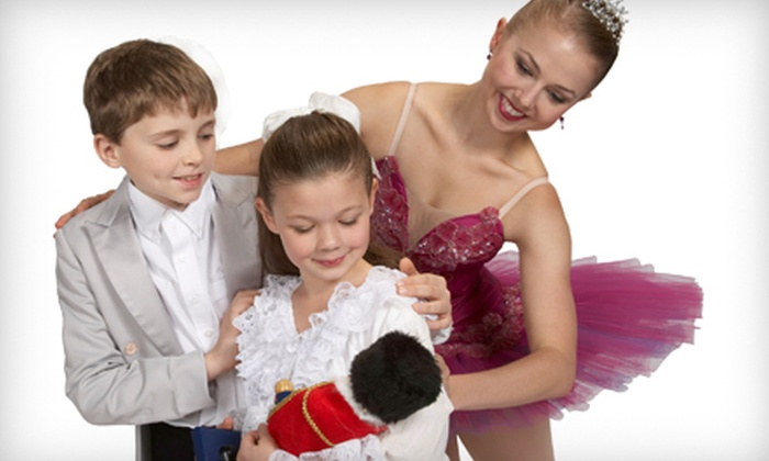 """""""A Children's Nutcracker"""" - Multiple Locations: One Adult Ticket or Family Package to Syracuse City Ballet's """"A Children's Nutcracker."""" Six Options Available."""